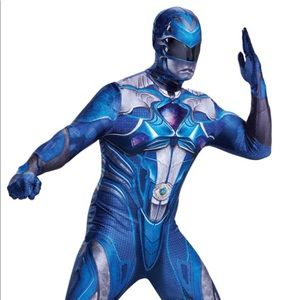Disguise Other Blue Power Ranger Morphsuit Men Costume Xxl 5052